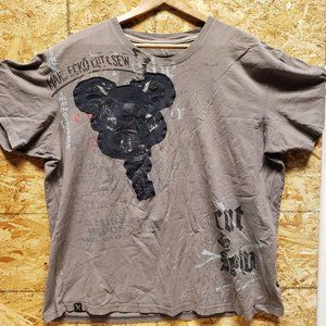 MARC ECKO Cut & Sew Guitar Shirt - XXL